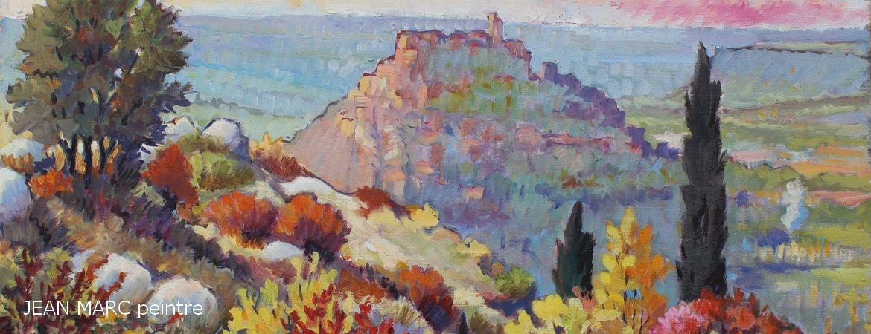 Peinture sur toile JEAN MARC