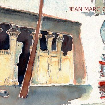 Carnet de voyage en Égypte, extrait, JEAN MARC